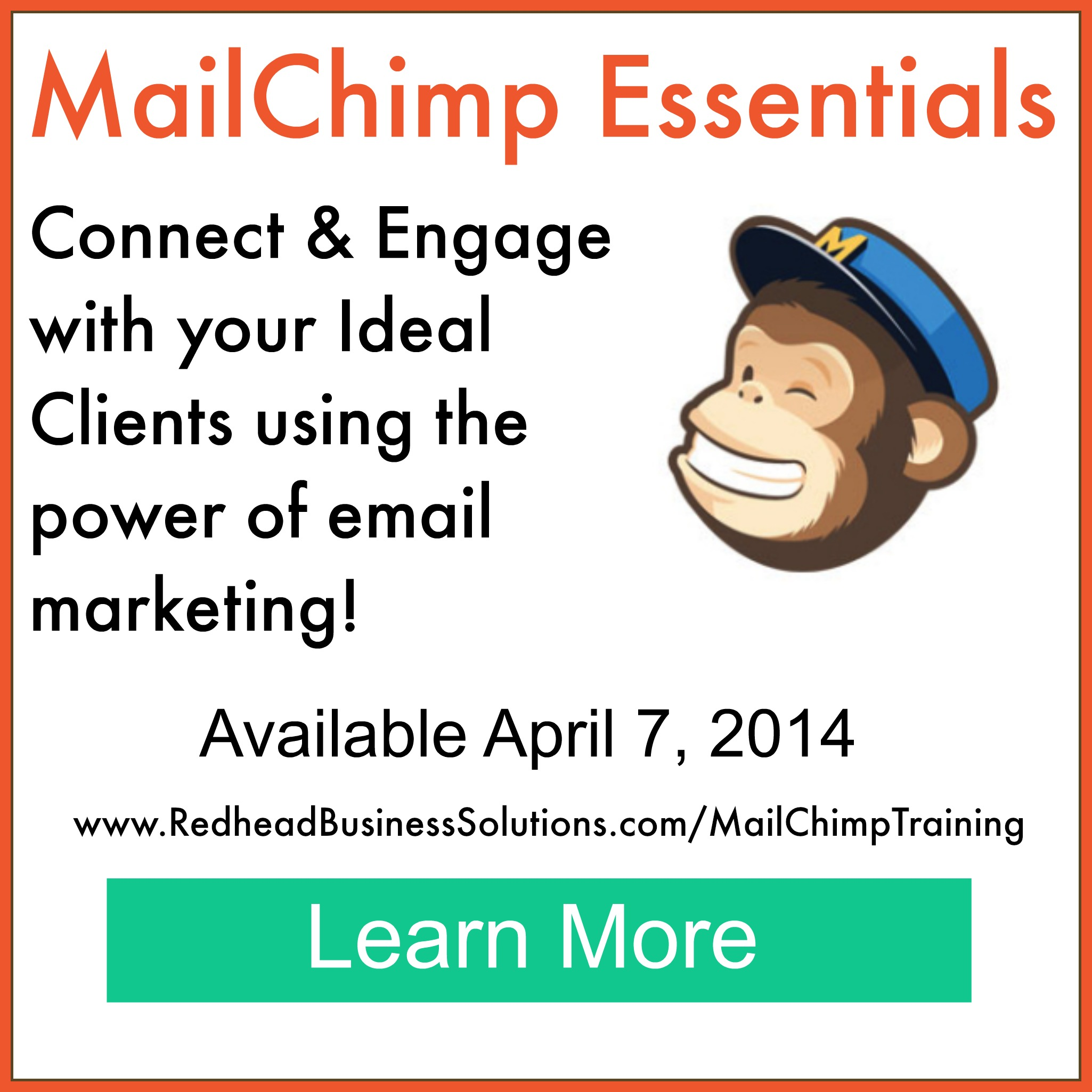 Mailchimp Training for Creative & Independent Entrepreneurs